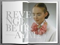 Revenge Betrayal — Fashion Spread