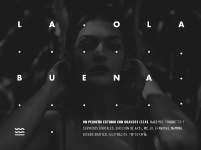 La Ola Buena illustration flat web ui branding design