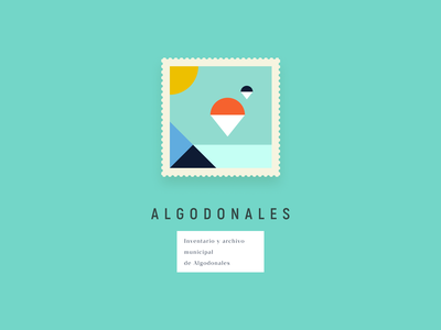 Algodonales figma digital minimalist design book illustration color lessismore book cover design