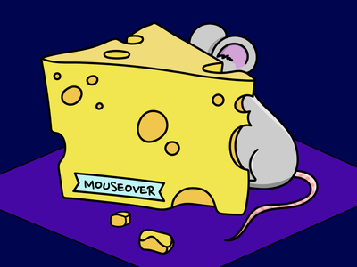 mouseover 🐭 ui silly outlines wacom animals purple yellow cheese mouseover mouse isometric design isometric illustration isometric art colorful character vector graphic design adobe illustrator design art illustration