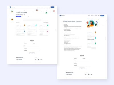IdeaInYou - Career pages identity site corporate design web ux ui