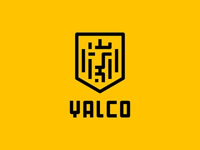 YALCO Brand Identity vector typography minimalist logo icon logo illustration graphic design design branding