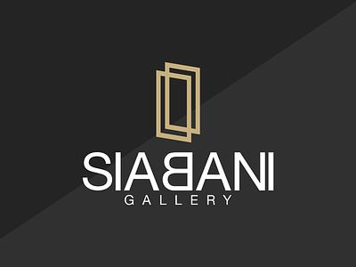 Siabani Gallery - Brand Identity vector typography minimalist logo logo illustration icon graphic design design branding