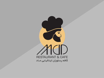 MAD Restaurant - LOGO Design vector typography minimalist logo logo illustration icon graphic design design branding