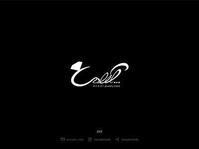 Azadi Jewelry Store Logo persian logo creative design vector jewelry logo branding graphicdesign illustration typography logo design