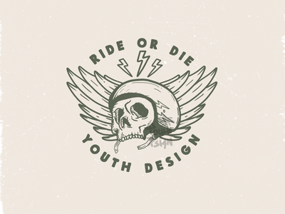 Ride or Die badgedesign logo branddesign