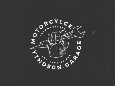 MOTORCYCLE illustration design tshirtdesign clothing brand hand lettering hand drawn branding logo badgedesign customdesign