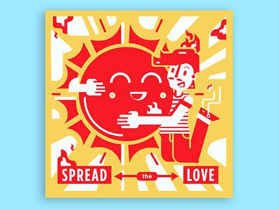 Summer lovin' wichita jump sunny hot hug luv happy love fire burn sun summer