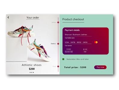 Daily UI #002 : credit card checkout form design ux ui uiuxdesign