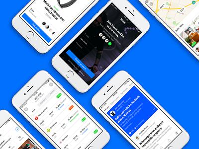 Stack UI Kit screens app templates ux ui ios