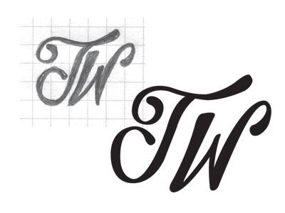 TW Mark trent walton lettering hand-drawn vector hand-lettering