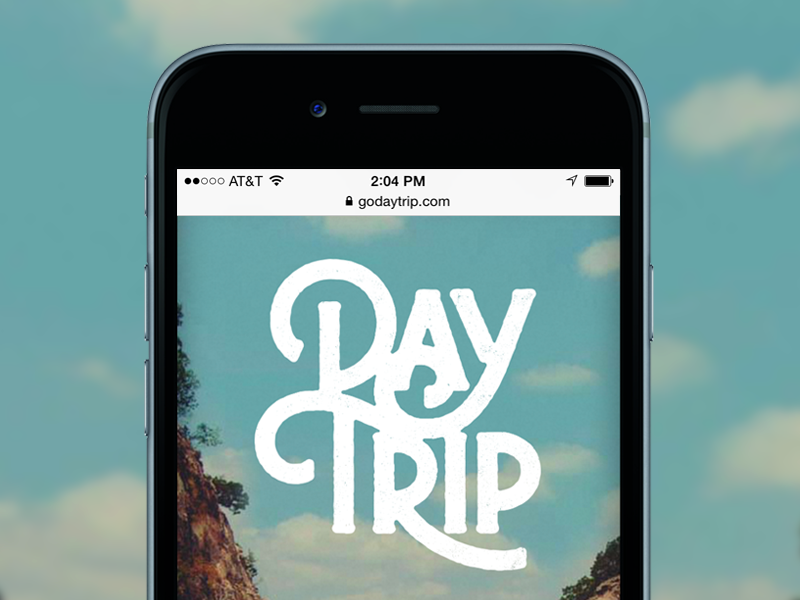 DayTrip Splash Page