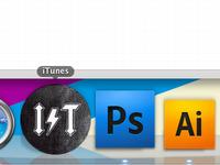 iTunes Dock