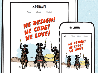 An all-new Paravel paravel amigos devices responsive