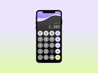 Daily UI :: 004 uxui design calculator app calculator ui dailyui calculator