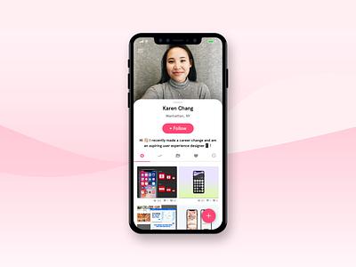Daily UI :: 006 design ui userprofile dailyui