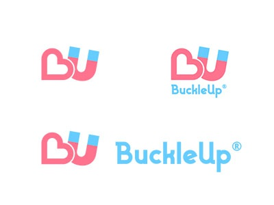 BuckleUp logo branding logo dating app
