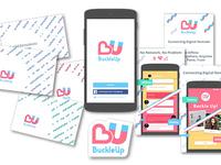 BuckleUp logobranding on various materials