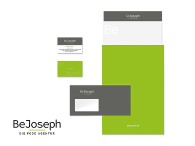 WIRTZ.DESIGN project BeJoseph logo design