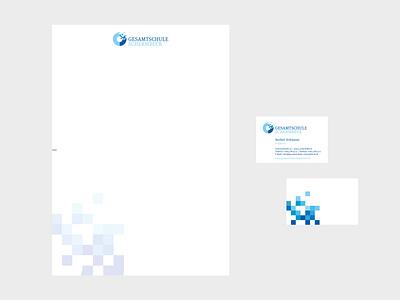 WIRTZ.DESIGN project Gesamtschule typography branding design logo