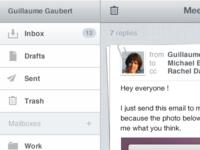 Web App Mail Client UI