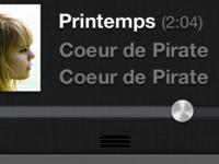 iPod UI Mini Player