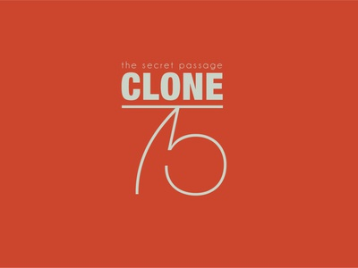 Clone 75 Logo typography logo design logo designer logo design branding logo branding logotype branding logo design