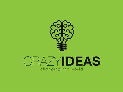 Crazy Ideas Logo logo designer logo design branding logo logo branding branding logotype logo design