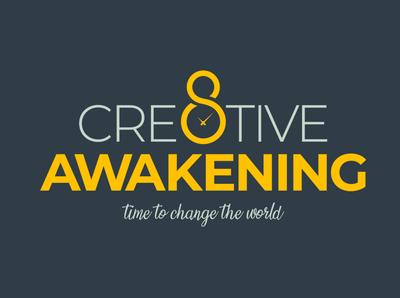 Cre8TiveAwakening Logo Design vector typography design logo designer logo logo design branding logo branding branding logotype logo design