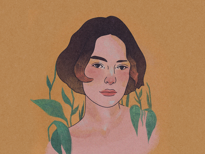 Brigette Lundy-Paine procreate illustration fanart atypical brigette lundy-paine