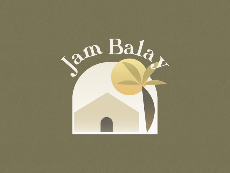 Jam Balay illustration branding logo restaurant branding restaurant