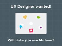 UX Designer wanted!