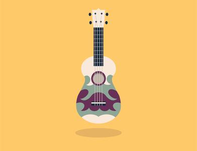 Vector Ukulele vectorart vector illustration vector ukulele uke steven universe