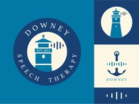 Downey Speech Therapy: Rebrand update logotype freelance designer freelance branding and identity brand design adobe logo identity logo adobe illustrator vectorart illustrator design illustration vector