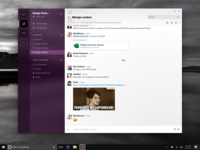 Slack reimagined with Fluent Design