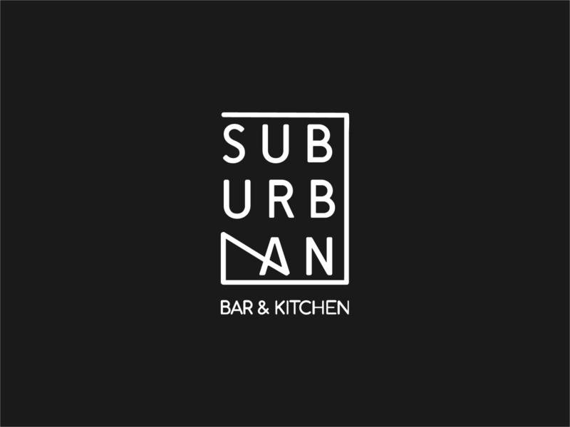 logo  design for Suburban Bar