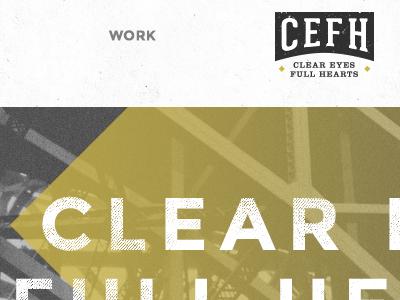 Portfolio portfolio cefh clear eyes full hearts