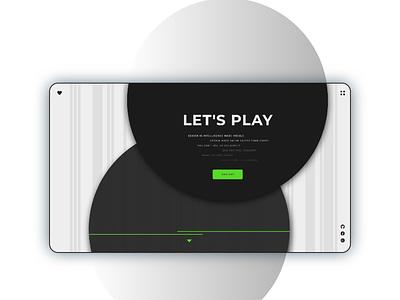PLAYGROUND UI Design uidesigners uiuxdesigner uidesigner uiuxdesign illustrator app developer developement designer website web ux ui design
