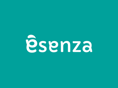 é senza logo logodesign vector typogaphy logotype type graphic design branding minimal logo icon