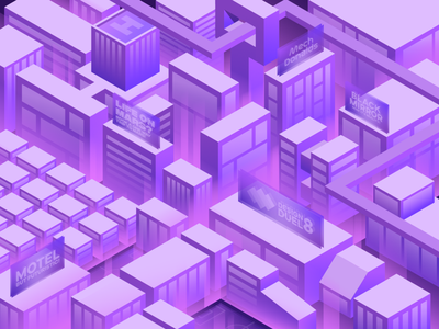 The Next Millenium affinitydesigner isometry isometric illustration isometric illustration design amateur