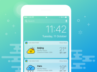fun weather ui kit
