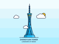 Zhongyuan Tower Rebound