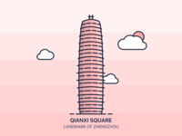 The Qianxi Square Rebound