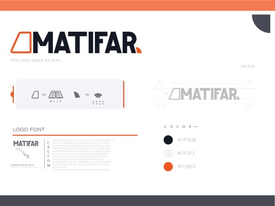 MATIFAR LOGO DESIGN typography best designer best logo logotype logo flat logo design illustration design branding cool logo