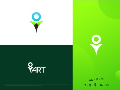 Nature Logo Design logo design branding illustrator logo design illustration flat cool logo best logo best designer