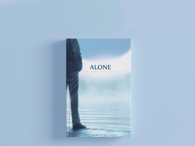 Alone Book Cover Design best designer flat alone photo a man books book cover design cover design book photoshop logo branding