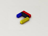 """LEGO® """"J"""""""