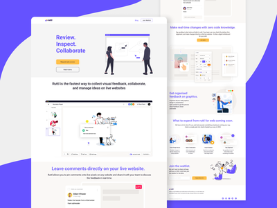 Landing page redesign illustration redesign uxdesign uidesign uxui website landing page landing pages landing page ui landingpage landing page design