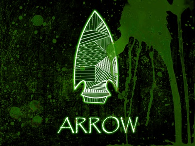 The Green Arrow illustration challenge art