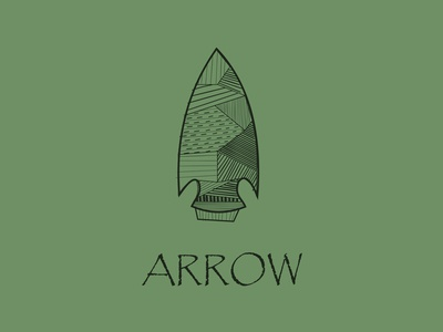 Minimal Arrow minimalist illustration art